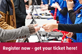 Register now - get your ticket here