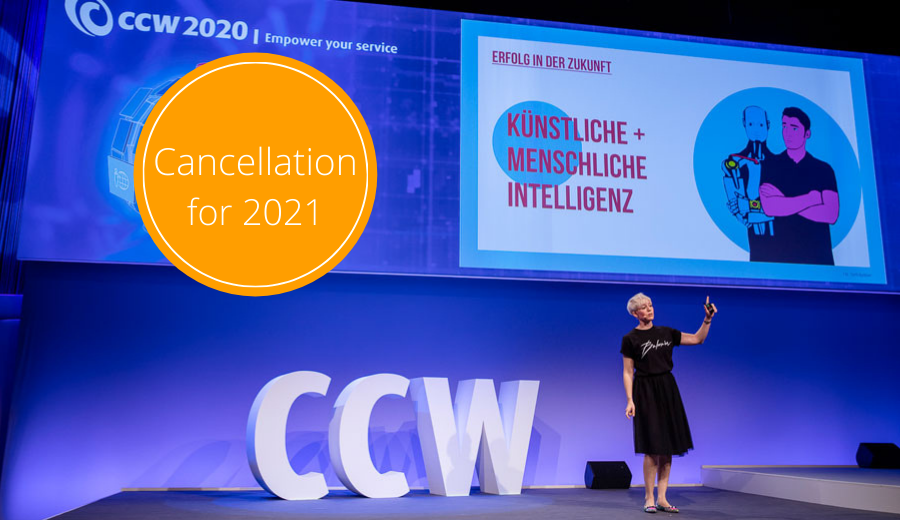 CCW 2021 will not take place
